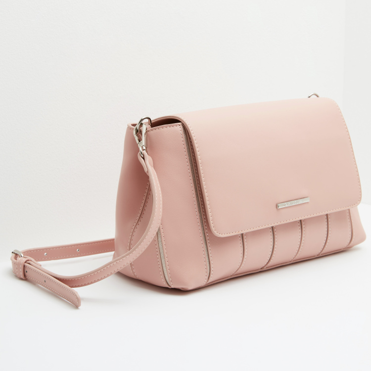 Satchel Bag with Detachable Sling Strap