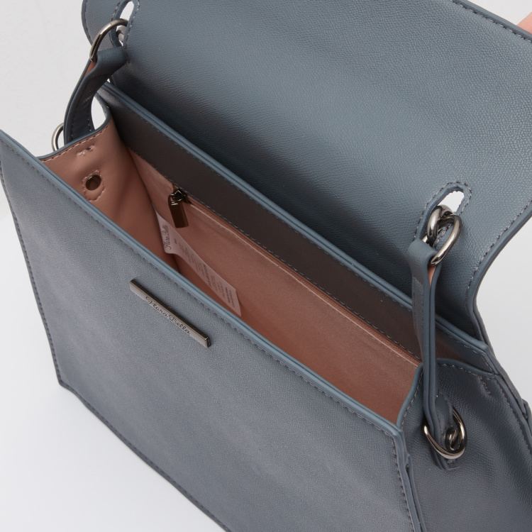 Handbag with Detachable Sling Strap
