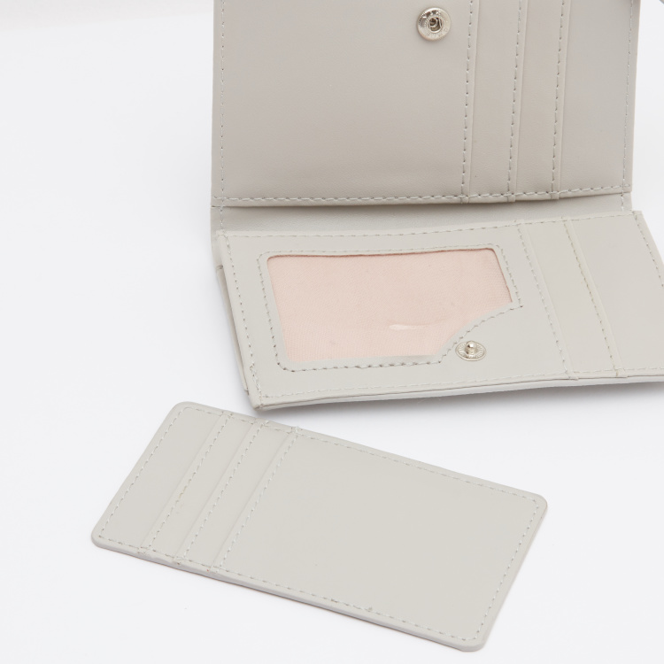 Rectangular Bi-Fold  Wallet with Wrist Loop
