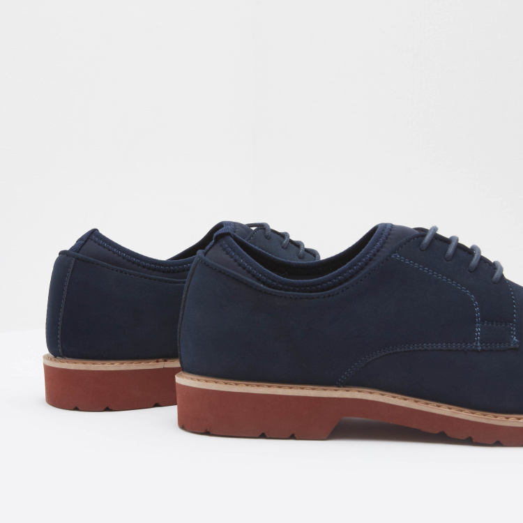 Derby Shoes with Lace-Up Closure